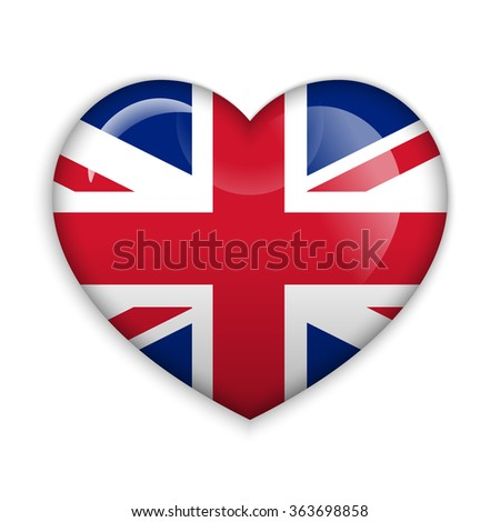 love united kingdom  flag