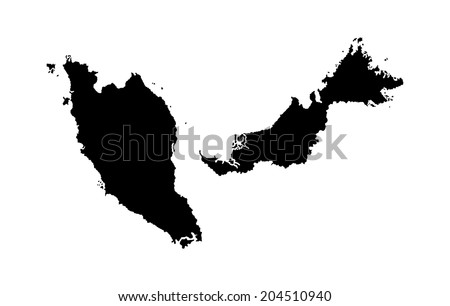Malaysia Vector Map Download Free Vector Art Stock Graphics