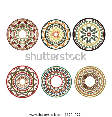 Maori / Polynesian Style tattoo - stock vector