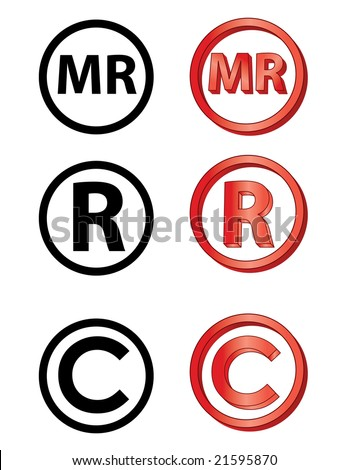 &Quot;MARCA Registrada&Quot; In Spanish, Registred, And Copyright ...