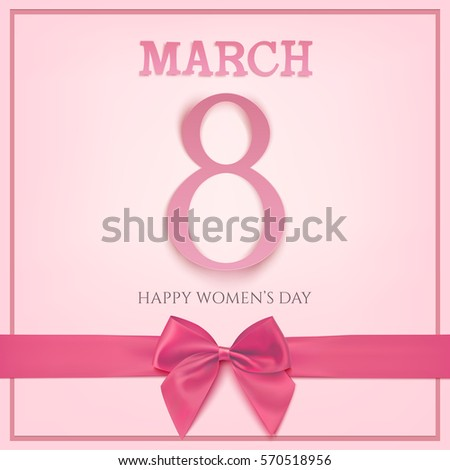 8 march greeting card template
