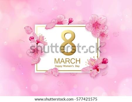 8 march modern background