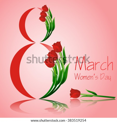 8 march women's day greeting