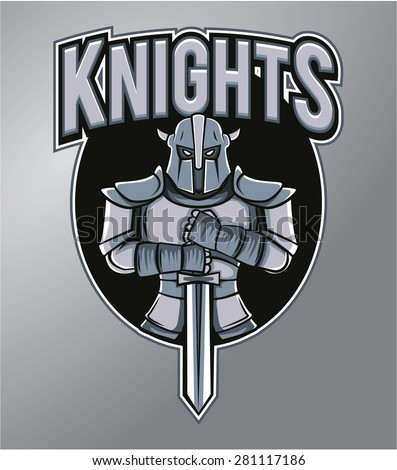 mascot knights