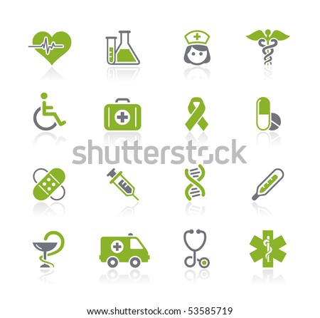 Medicine & Heath Care // Natura Series - stock vector