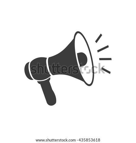 megaphone icon  megaphone
