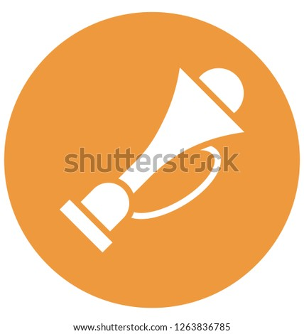 Megaphone Vector that can be easily modified or edit