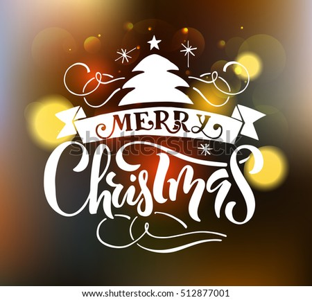 merry christmas happy new year greeting card logobadge typography which is - Merry Christmas Logos