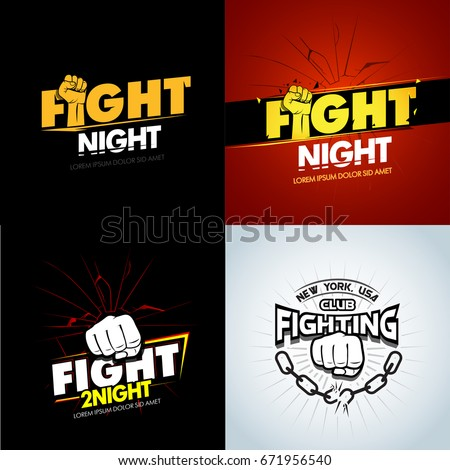 4 modern professional fighting