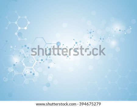 molecular structure medical background Illustrations