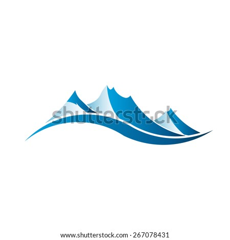 mountains logo image