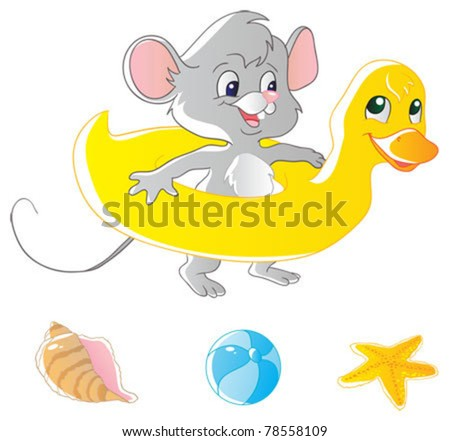 Mouse and air-duck