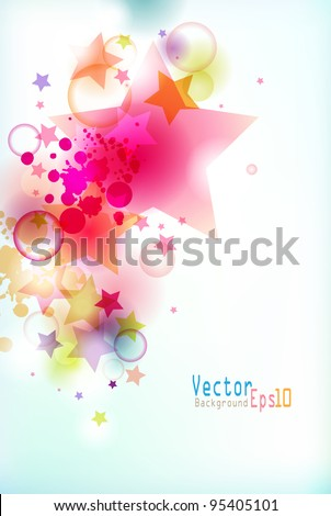 multicolor  vector background #95405101