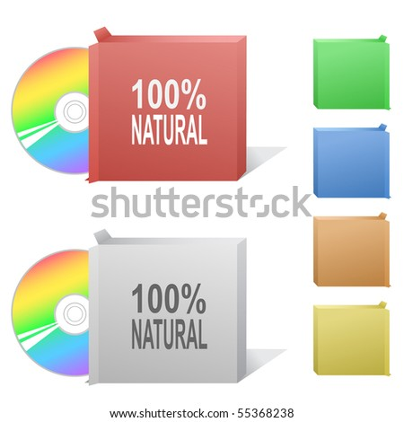 100% natural. Box with compact disc.