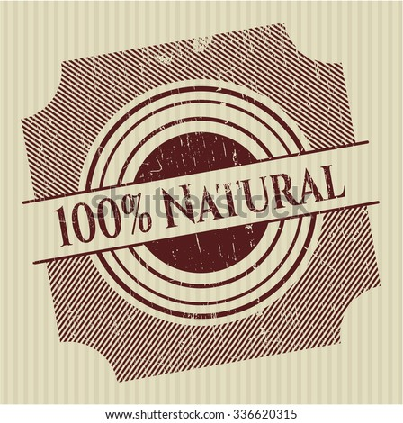 100% Natural rubber grunge seal