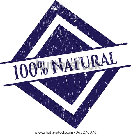100% Natural rubber grunge texture seal