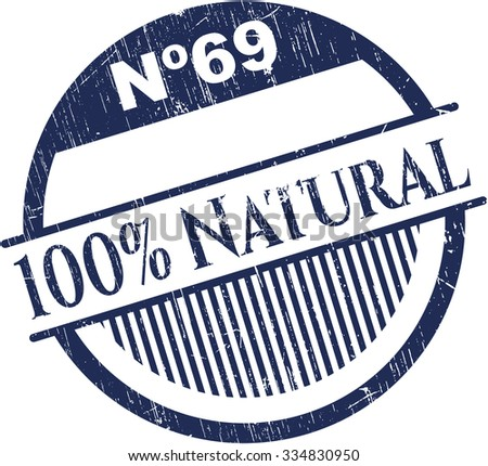 100% Natural rubber seal