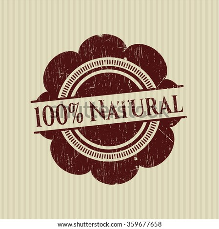 100% Natural rubber stamp with grunge texture