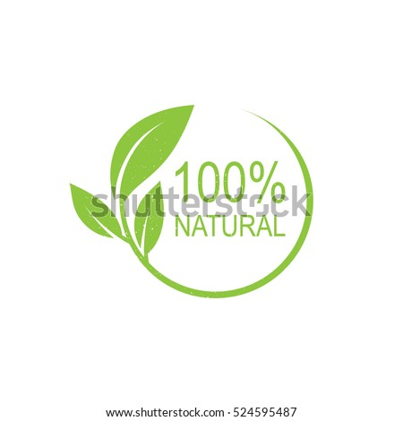 100  natural vector logo design