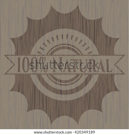 100% Natural wooden signboards