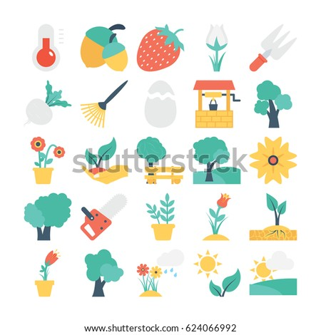 nature and gardening vector