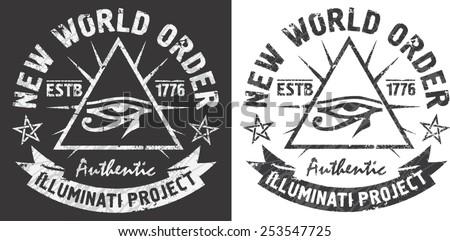'new world order' artworks for