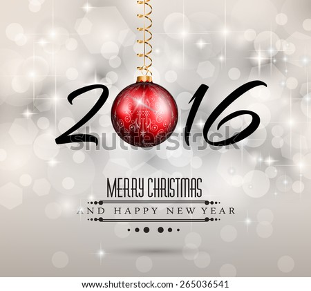 2017 happy new year flyer invitation template for your party 2016 new year and happy christmas background for your flyers invitation party posters stopboris Choice Image