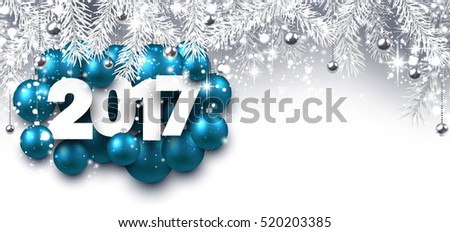 Aquamarine Xmas Decorations