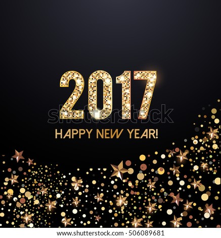 2017 New Year card