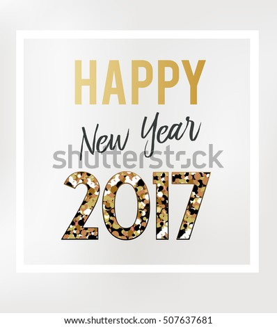 2017 New Year card #507637681