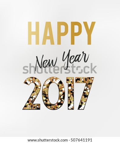2017 New Year card #507641191