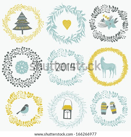 2014 New Year greeting card