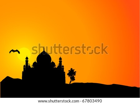 1001 nights vector background