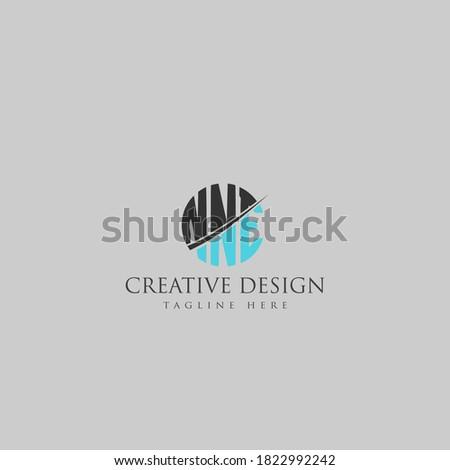 NNE Letter Logo Design Cross Monogram Icon. Stock fotó ©