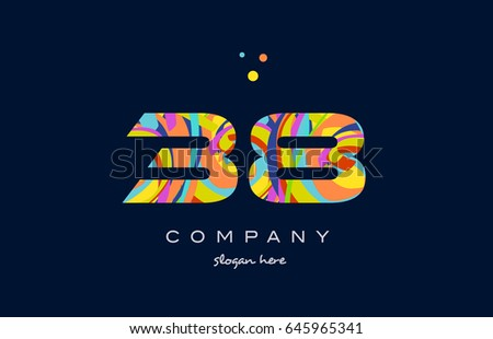 38 number digit numeral logo