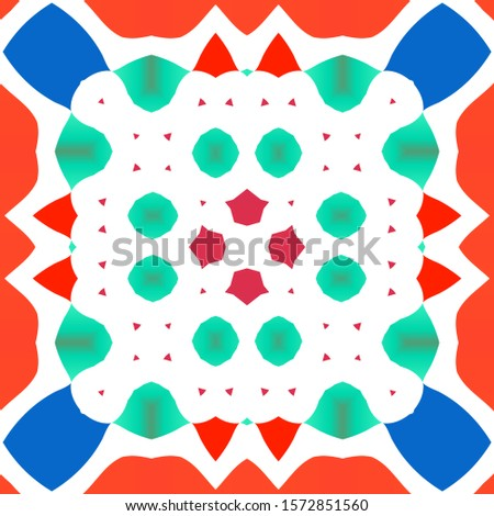 [object Object]Ornamental talavera mexico tiles decor. Minimal design. Vector seamless pattern texture. Red gorgeous flower folk print for linens, smartphone cases, scrapbooking, bags or T-shirts.
