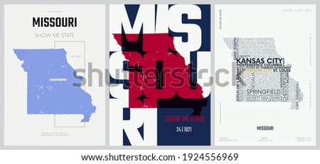 24 of 50 sets  us state posters