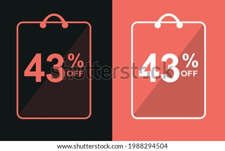 43  offsale banner with forty