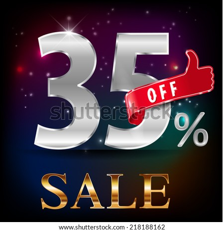 35  off  35 sale discount hot