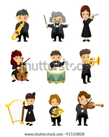 orchestra  music player