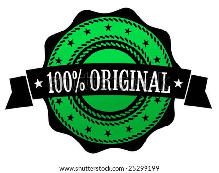 100% original green medal