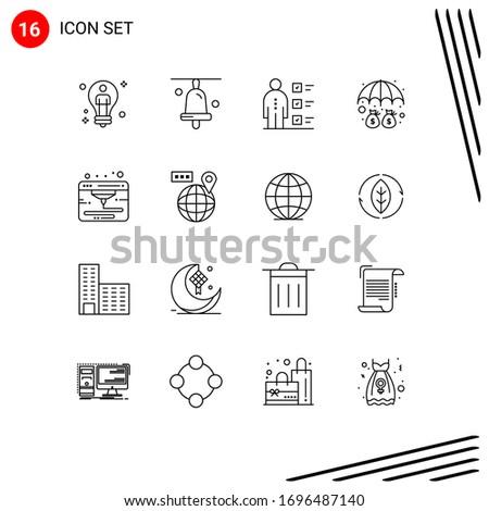 16 outline concept for websites