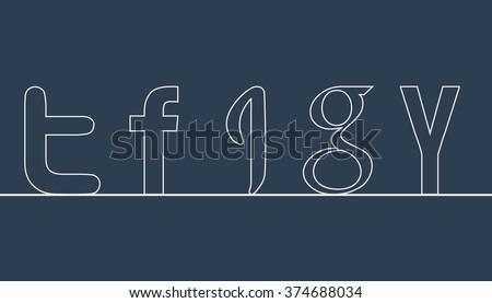 outline social letters