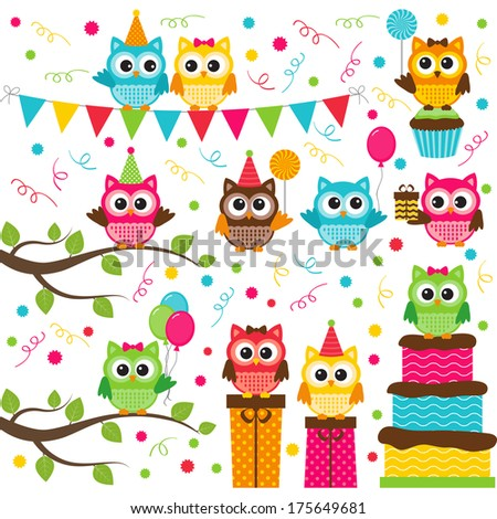 Owl Party Set