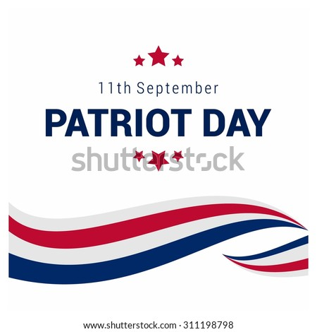 Shutterstock 9/11 Patriot Day background, Patriot Day September 11, 2001 Poster Template, we will never forget you, Vector illustration for Patriot Day
