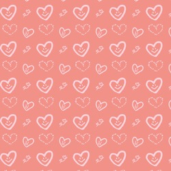 pattern of the heart