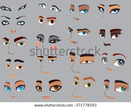 people eyes set different