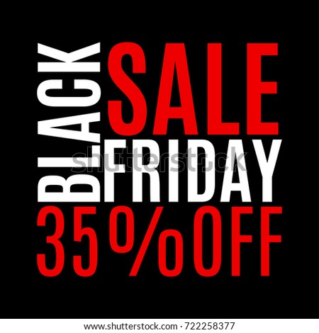 35 percent price off black