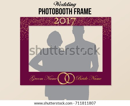 Black And White Photobooth Vector Elements Download Free Vector