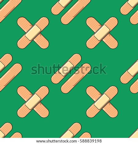 Plaster pattern. Vector texture of the plasters.